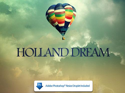 オランダの夢 PSD ファイル