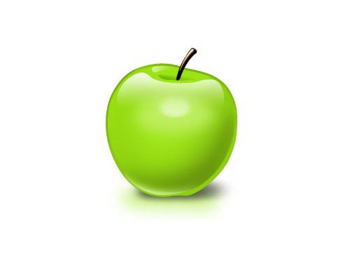 無料の PSD アップル