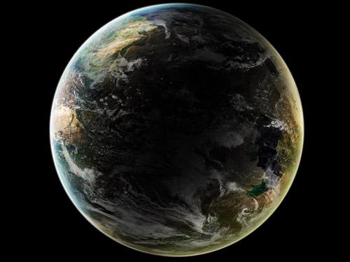 素晴らしい地球 PSD ファイル