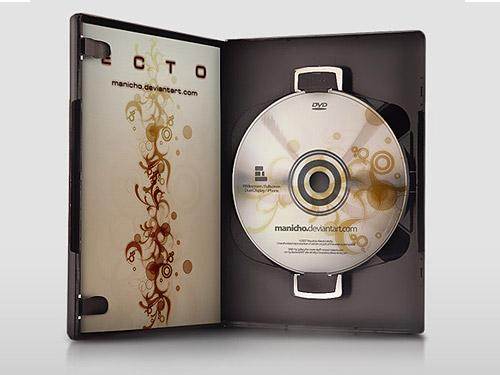 DVD ケース – PSD ファイル