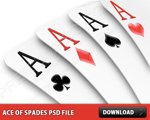 エース スペード PSD ファイル