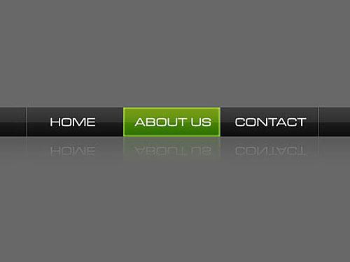 Web2.0 の単純なナビゲーション バー