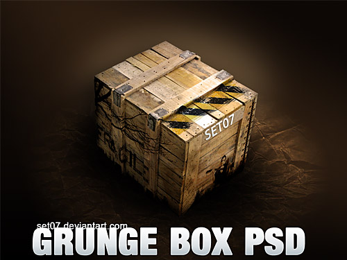 グランジ ボックス PSD