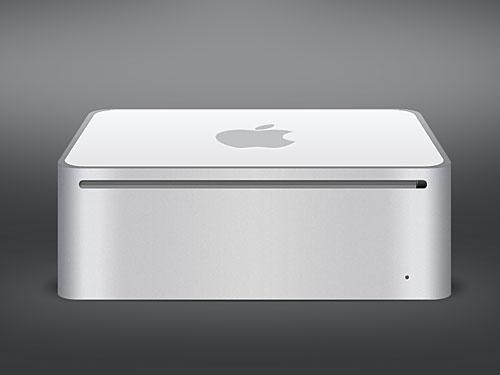 アップルの Mac Mini PSD