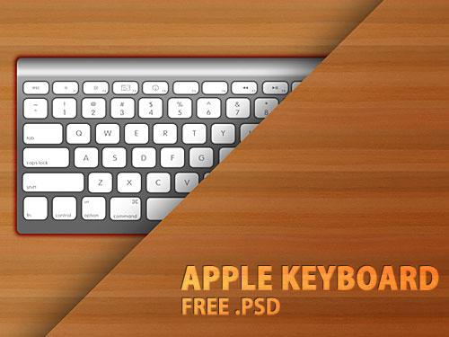 アップル キーボード PSD ファイル