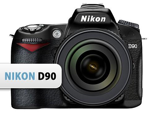 ニコン D90 カメラ PSD