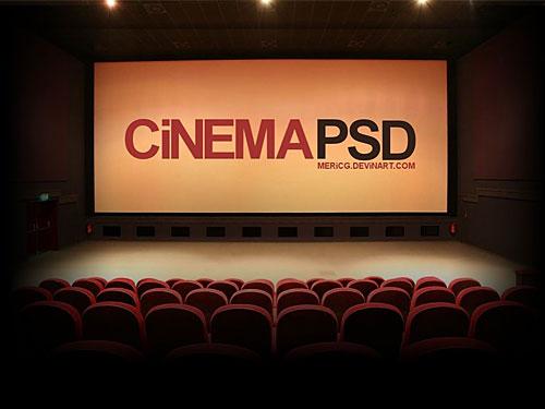 PSD の映画館