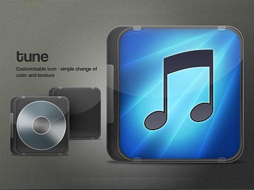 iTunes は、psd ファイルのアイコンをカバーします。