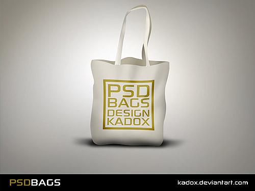 簡単な無料 PSD バッグ