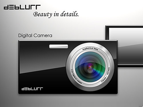 debLURR デジタル カメラ