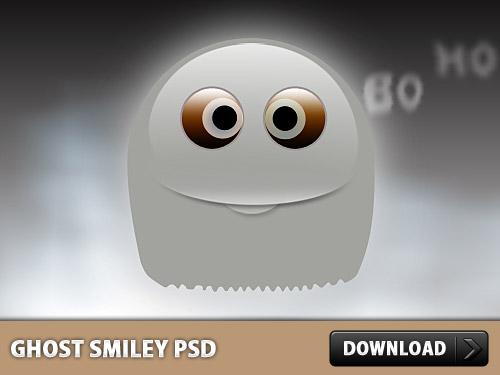 ゴースト スマイリー PSD ファイル
