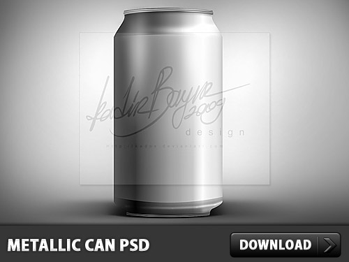 金属缶 PSD