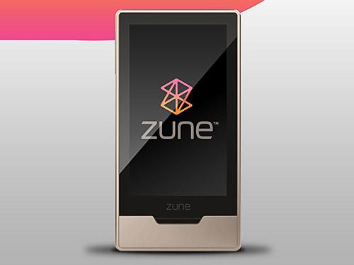 Zune HD の PSD ファイル