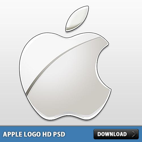 アップルのロゴ PSD ファイル