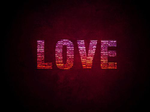 愛の壁紙 Psd