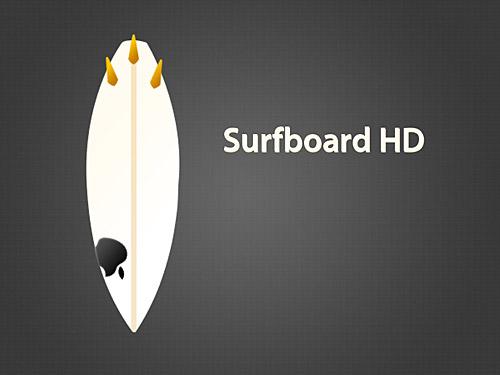 サーフボード HD PSD