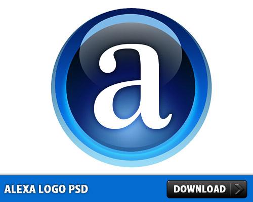 Alexa のロゴ無料 psd ファイル