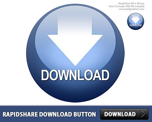 急流のダウンロード無料ボタン PSD