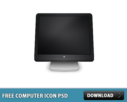 コンピューター アイコン無料 psd ファイル