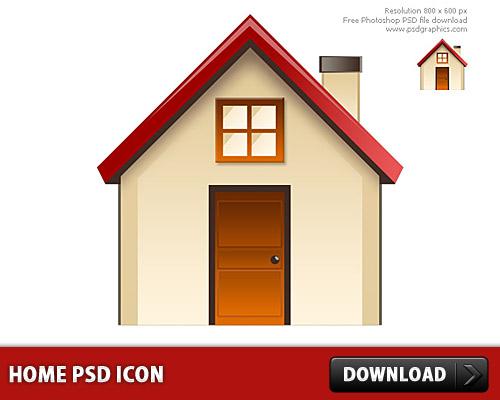 ホーム アイコン無料 psd ファイル