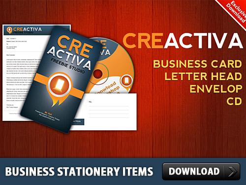 ビジネス文房具項目無料 PSD を設定