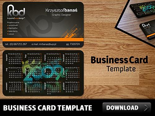 無料のビジネス カード テンプレート psd ファイル