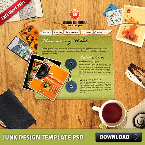 迷惑メールの設計テンプレート psd ファイル