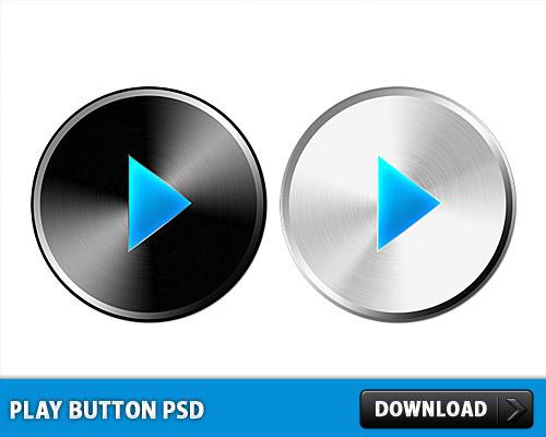 再生ボタン無料 psd ファイル
