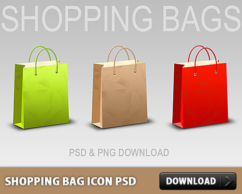 ショッピング バッグ アイコン無料 psd ファイル