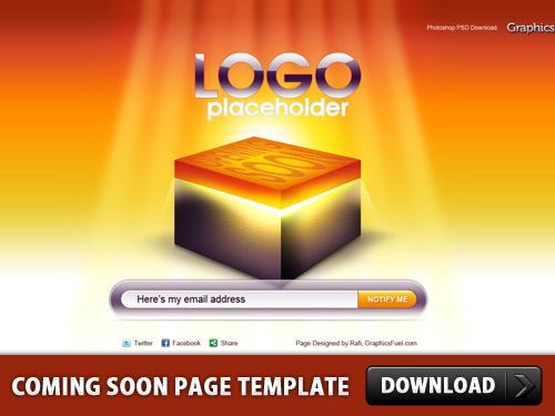 ページ テンプレート psd ファイルをすぐに来る