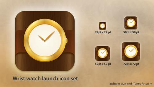時計アプリ アイコン無料 psd ファイル