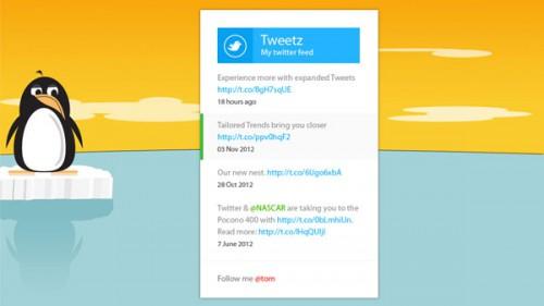 地下鉄の Twitter のフィード無料 PSD ファイル