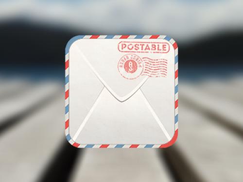 封筒アイコン無料 psd ファイル
