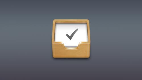 リストを行うに木製の箱アイコン PSD