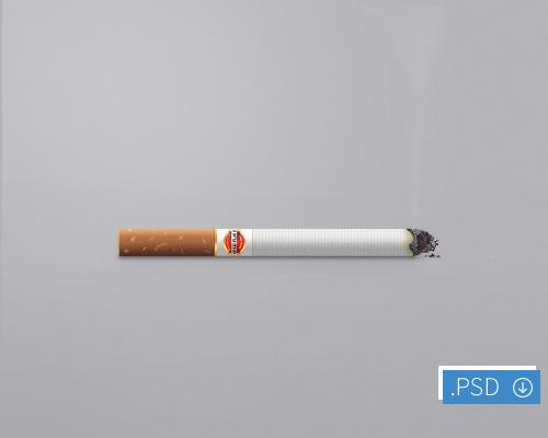 タバコ アイコン PSD ファイル