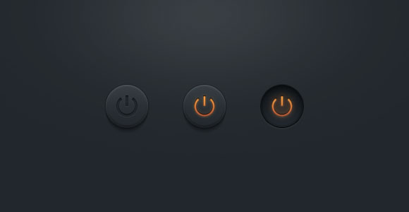 Psd ファイルのボタンをオフに暗い