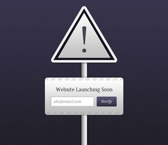建設 PSD の下のウェブサイト