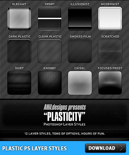 プラスチック PS 層のスタイル
