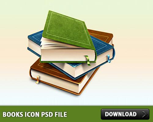本アイコン PSD ファイル