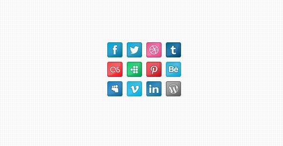 ソーシャル メディアのアイコン無料 psd ファイル