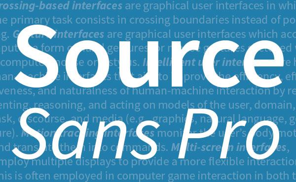 ソース コードのプロ無料フォント