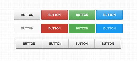 CSS3 のパターン化されたボタン