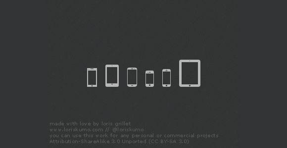 モバイル デバイスのアイコン無料 psd ファイル