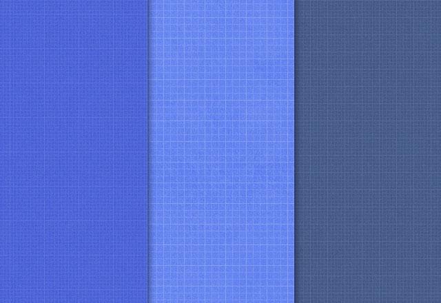 シームレスな青写真パターン PSD PNG パット