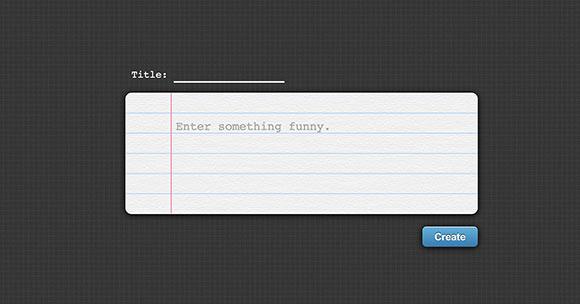 楽しい CSS jQuery の作られたテキスト ボックス