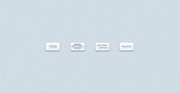 お支払い方法の PSD アイコン