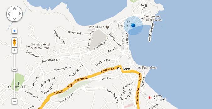 Google マップの UI コントロール PSD
