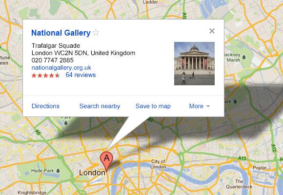 Google マップ バブル PSD