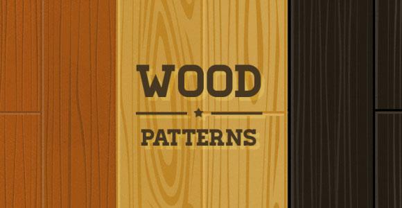 木材パターン パック PNG PSD