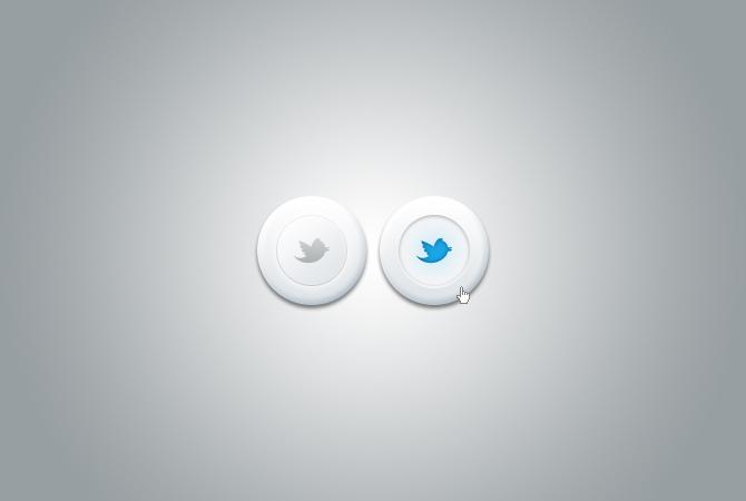 ソーシャル メディア ボタン無料 psd ファイル